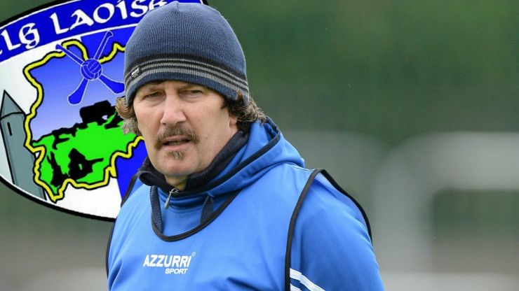 """It's not just management, it's the Laois county board, the team, the supporters"""