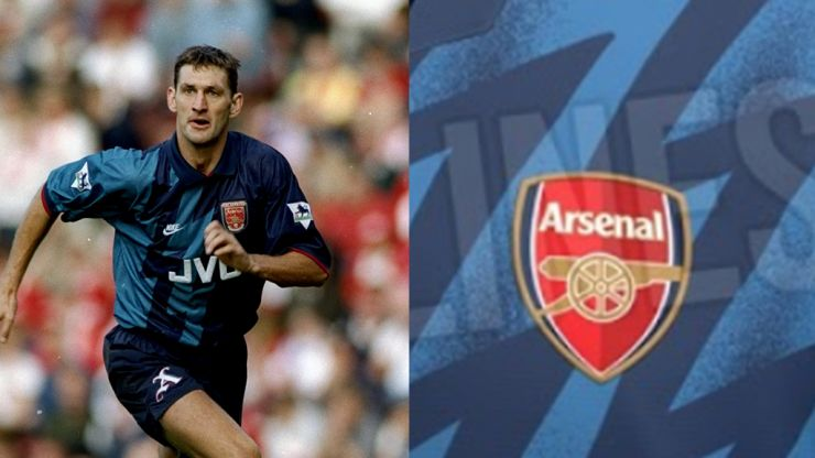 Arsenal leaked third kit reveals a throwback to a 1990s classic