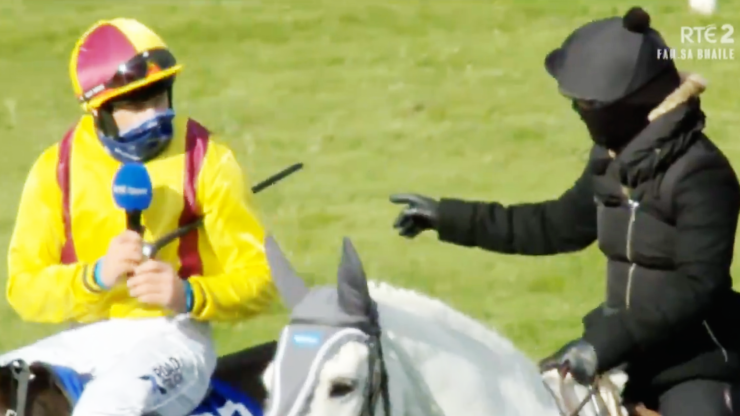 """""""I was just looking forward to having a spin in it"""" - 150/1 shot lands the Irish National"""
