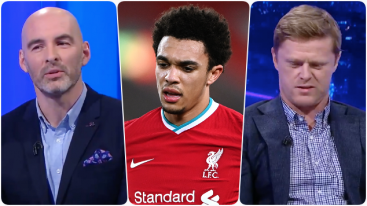 """Richie Sadlier tears into """"liability"""" Trent Alexander Arnold as Liverpool crumble"""