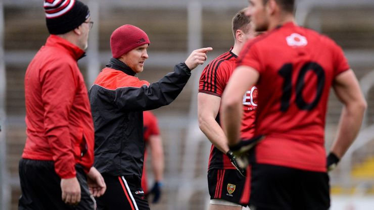 'Overtraining' is not the main issue for county players, says Down boss Paddy Tally
