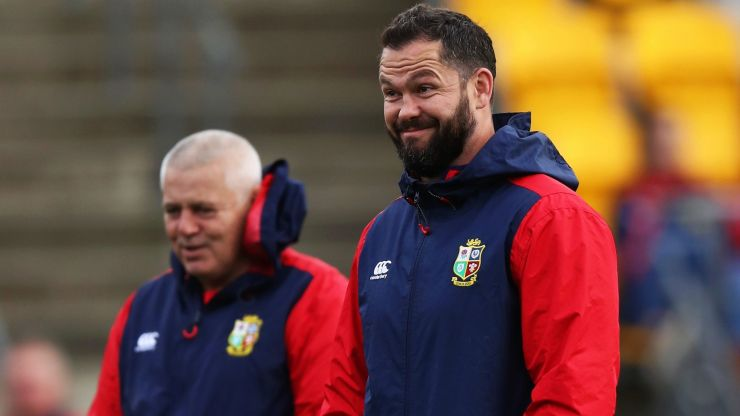 Gatland explains why Farrell and Rowntree are not on Lions coaching ticket