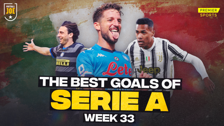 WATCH: All the best Serie A goals from Week 33