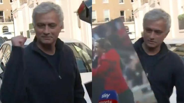 Jose Mourinho is the picture of happiness and health after Spurs sacking