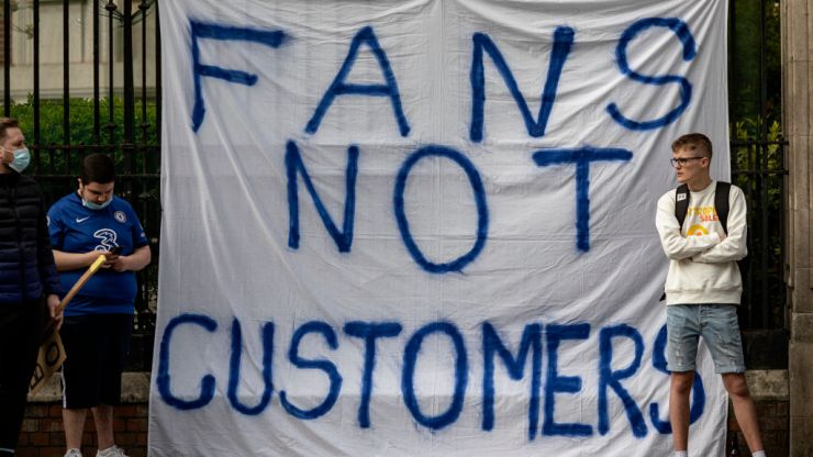 Ranking the top 10 signs as football fans stick it to the European Super League