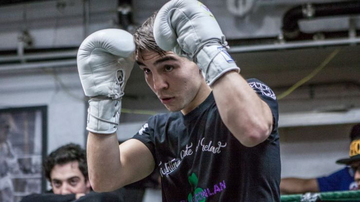 """Michael Conlan gets the win but had reason to """"worry"""" when the scorecards were read out"""
