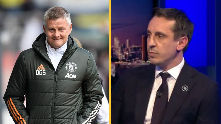 "Ole Gunnar Solskjaer ""unhappy"" with Gary Neville over anti-Glazer backlash"
