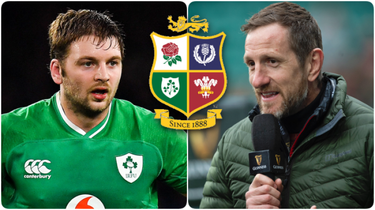 One Englishman and five Irish players in Will Greenwood's Lions XV