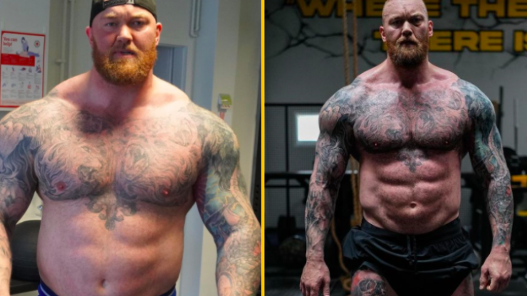 'The Mountain' Hafthor Bjornsson shares diet and workout plan which saw him lose 50kg