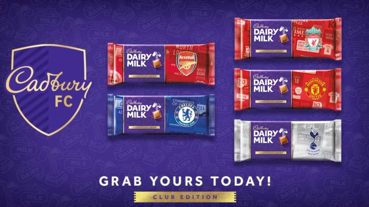 Football fans are going to love these brand new Cadbury chocolate bars