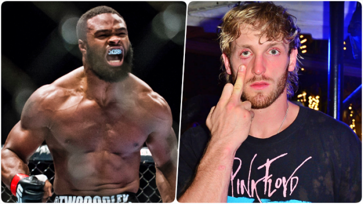 """""""Can't wait to shut this ***** up"""" - UFC knock-out monster signs on to box Jake Paul"""