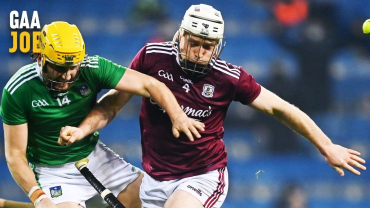 It shows how far the game has come to see the app Galway hurlers use on a daily basis