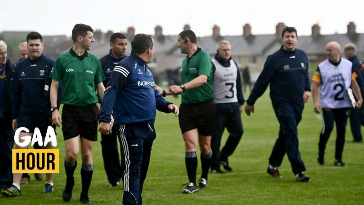 """""""His reputation is following him around now"""" - Davey Fitzgerald gets landed with hefty ban for sideline altercation"""