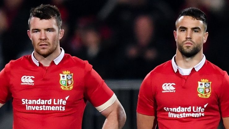 """""""An incredible honour, and no better man"""" - O'Mahony on Murray's Lions captain"""