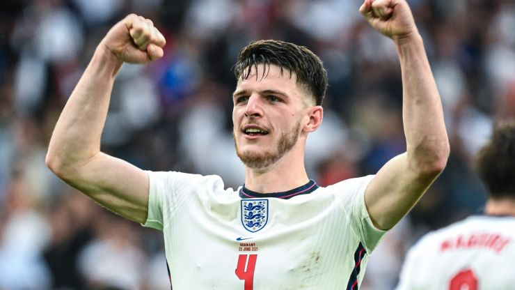 Bullish Declan Rice had more than a word for the critics as England march on