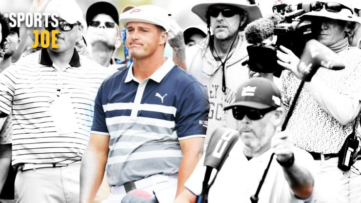 Bryson DeChambeau's refusal to yell fore only brings the game's best character down