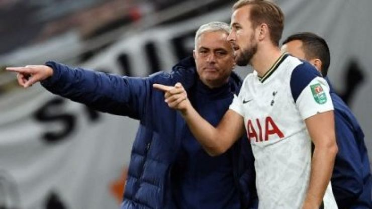 Harry Kane played better for Jose Mourinho's Spurs than for England