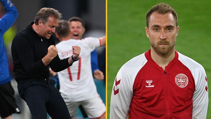 Denmark boss reveals subtle Christian Eriksen tribute after emotional Russia win