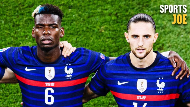 Adrian Rabiot's mother clashing in the stand with the Pogba family as French fall-out continues