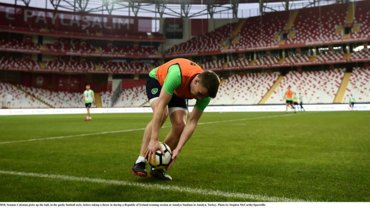 Seamus Coleman reveals what current Everton player would make a good Gaelic footballer