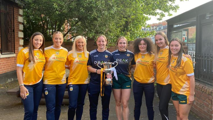 Antrim Ladies Gaelic football team - The only Ulster GAA team with all-female coaching staff