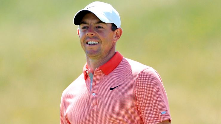 Rory McIlroy's reaction to 14th tee shot slip captured his Open troubles