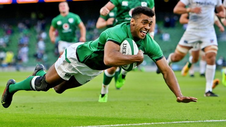 Full Ireland ratings as Ronan Kelleher inspires USA thrashing