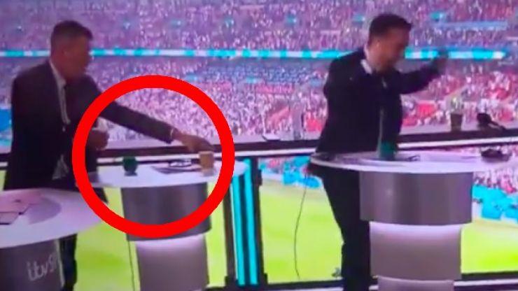 Roy Keane's reaction to that Luke Shaw goal was every Irish mammy