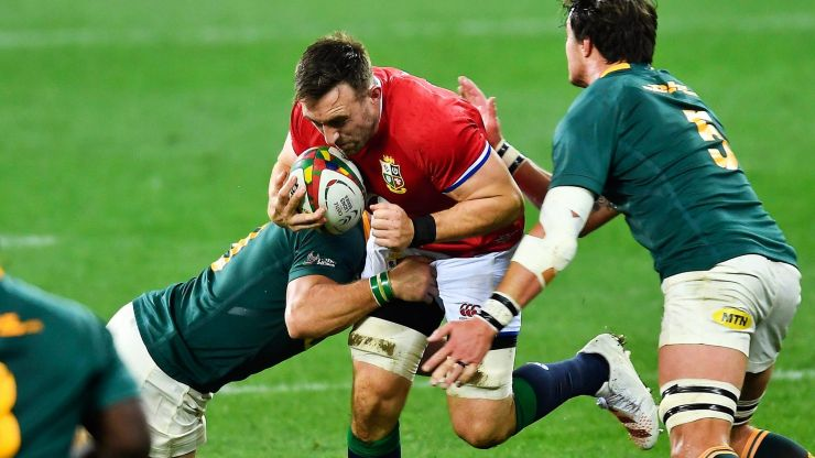 Lions Tour sees Jack Conan revise list of toughest tackles he's received
