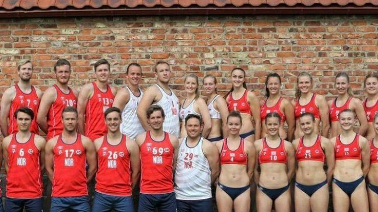 Norwegian handball team fined for refusing to wear bikini bottoms at Olympics