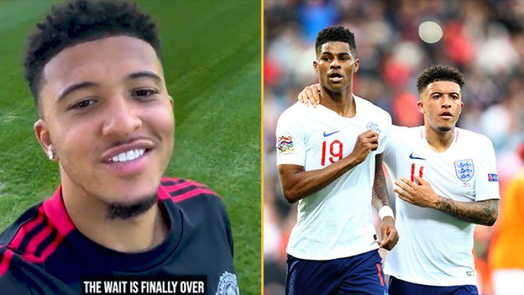 Marcus Rashford approves Man Utd bio change as Sancho arrives