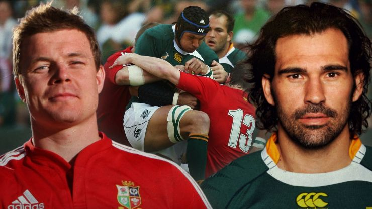 Brian O'Driscoll and Victor Matfield talk us through that brutal Second Test from 2009
