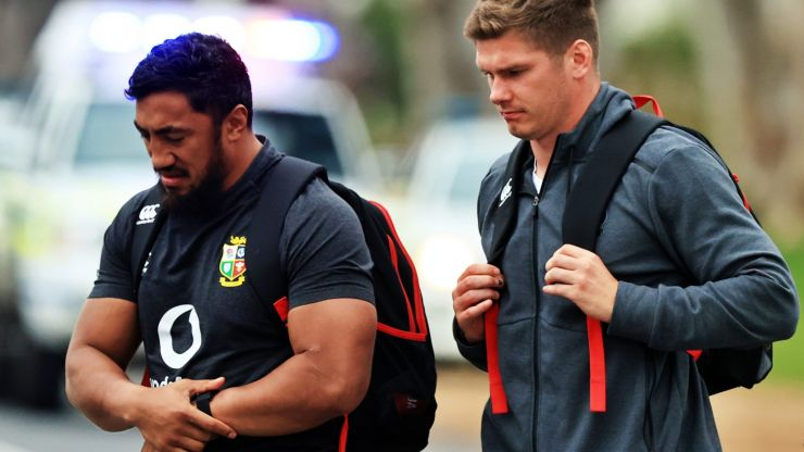 """""""I didn't think I'd get along with him so well"""" - Bundee Aki, Owen Farrell and a Lions bromance"""