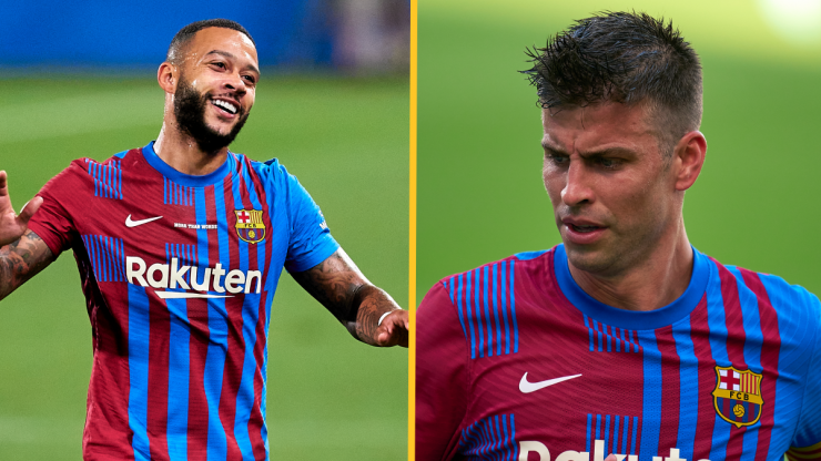 FC Barcelona finally register new signings as captain Pique takes huge wage cut
