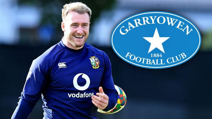 Stuart Hogg talks to us about wearing that Garryowen jersey on the Lions Tour