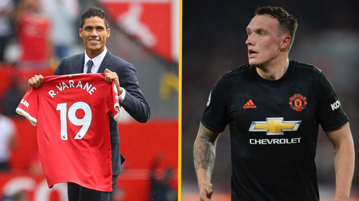 Phil Jones 'refused to give up squad number' for Raphael Varane