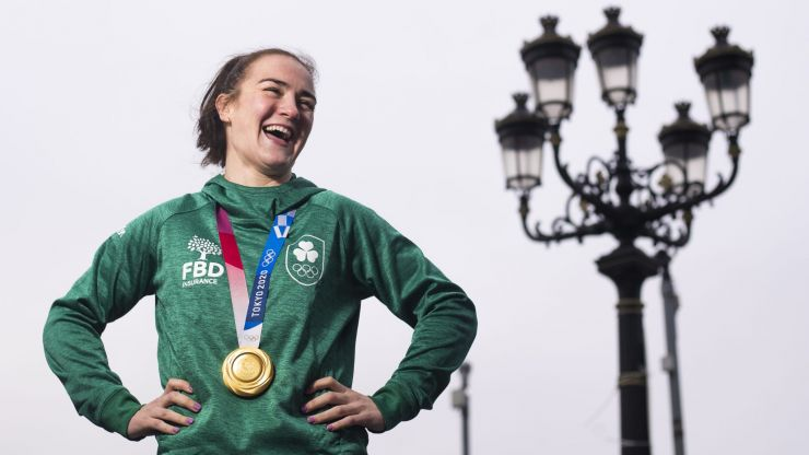 """""""I've had some offers"""" - Kellie Harrington weighs up her options of turning professional or staying ameatuer"""