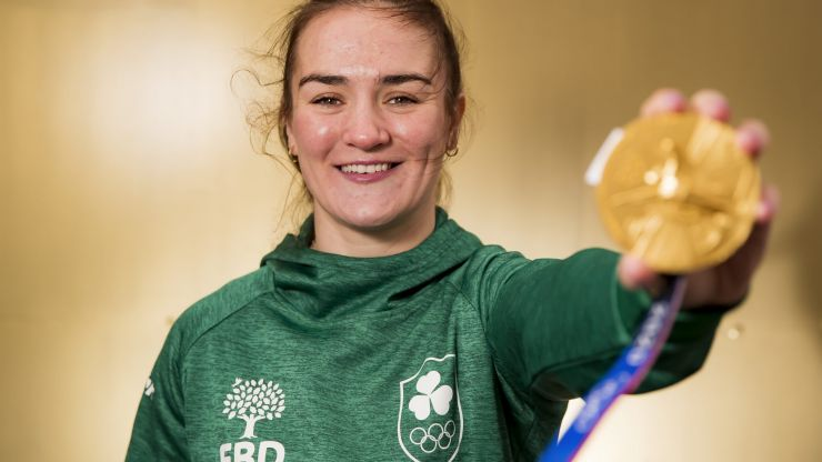 Kellie Harrington calls for more support to help local boxing clubs