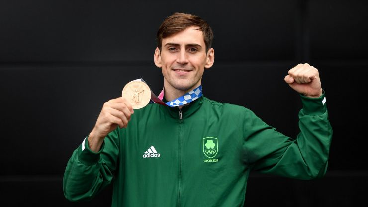 Olympic medalist Aidan Walsh has a message for young kids looking to achieve their dreams