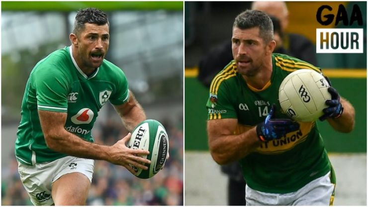 """""""They just can't believe that Rob Kearney is there training"""" - Why the Rugby star's return to GAA is huge"""