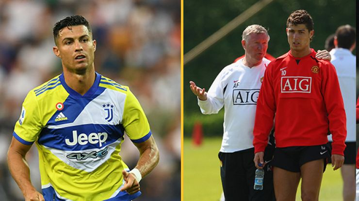 Man Utd moved for Cristiano Ronaldo after his conversation with Sir Alex Ferguson
