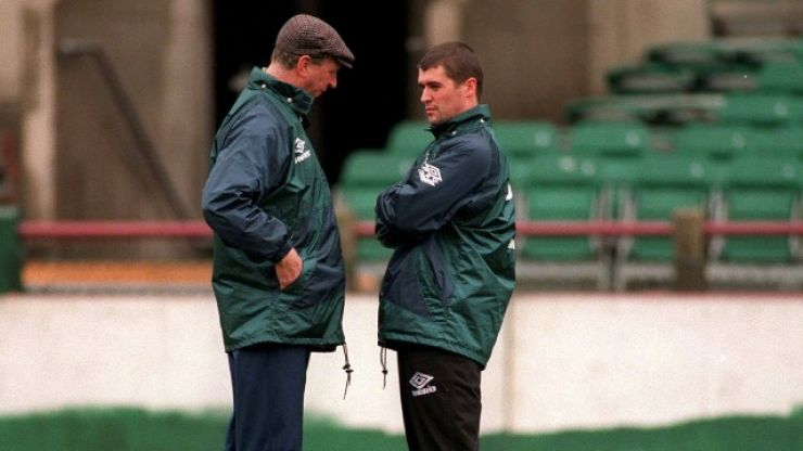 """Jack, can we go out tonight?"" - Roy Keane tells hilarious Jack Charlton story"