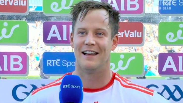 An emotional Kieran McGeary has a message for those who didn't believe Tyrone could beat Kerry