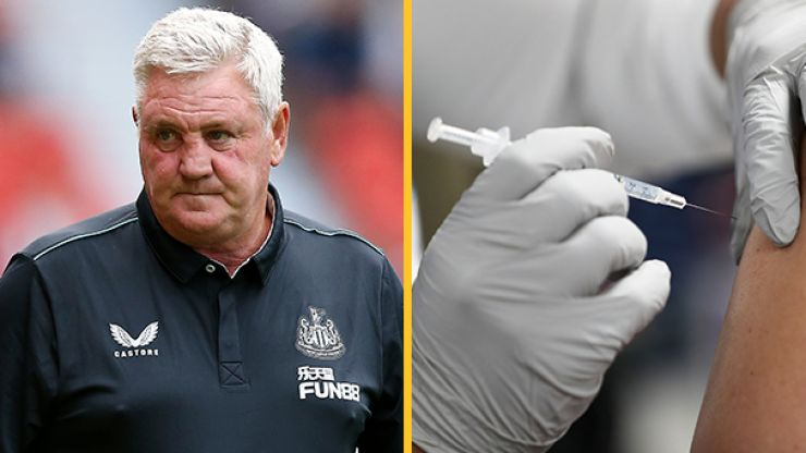 Steve Bruce admits lots of Newcastle United players have not been vaccinated