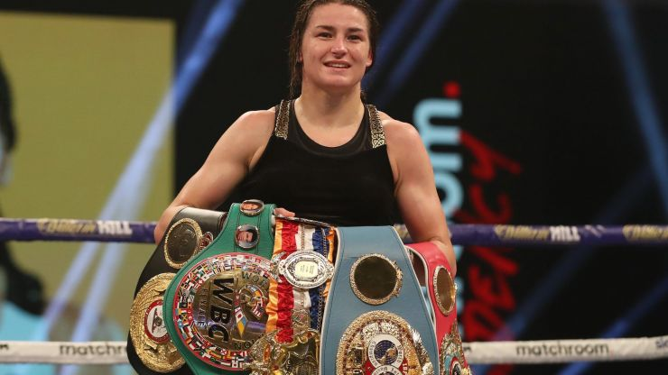 The all-conquering reign of Katie Taylor doesn't seem to be stopping anytime soon