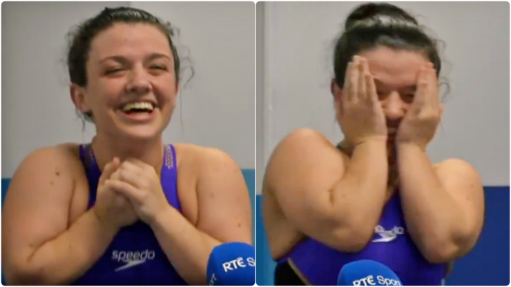 """""""Best day of my life"""" - Nicole Turner delivers joyous interview after silver medal win"""