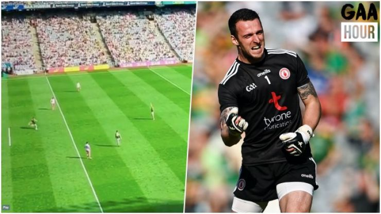 Niall Morgan's unbelievable kick against Kerry from nearly the half-way line could be a record