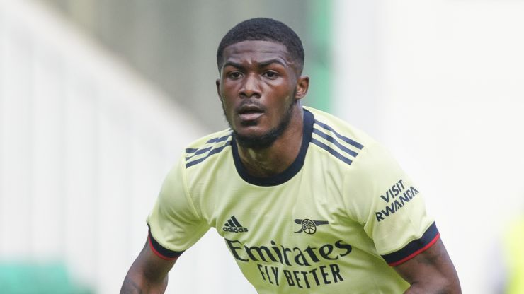 Arsenal bar Ainsley Maitland-Niles from first team training after blocking move to Everton