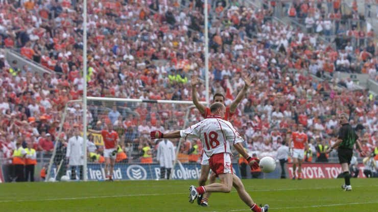16 years ago today Peter Canavan kicked one of the most pressurised kicks in GAA history