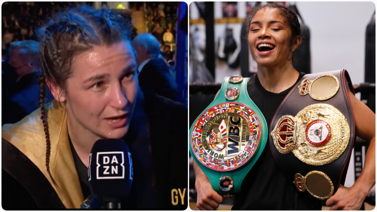 Katie Taylor called out for next fight during her victory over Jennifer Han